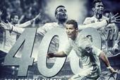 Ronaldo chính thức chạm mốc lịch sử ở Real Madrid