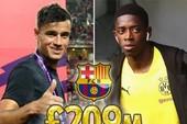Barcelona 'tung' 209 triệu bảng Anh mua 2 siêu sao