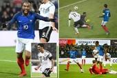 Đức, Pháp rượt đuổi hấp dẫn, Anh, Brazil nhạt nhòa