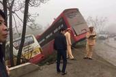 Bị xe buýt lao trúng, nữ chủ xe khách tử vong