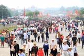 Giải pháp nào để Lễ hội đền Hùng không quá tải?