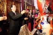 Chủ tịch nước dự lễ dâng hương tại Đền Hùng