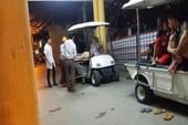 Hà Nội: Sập giàn giáo 3 người bị thương