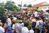 Truy tố 10 cựu cán bộ xã Đồng Tâm
