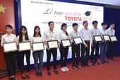 Toyota trao 115 học bổng cho sinh viên