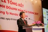 Năm 2017, Honda Việt Nam bán gần 6.000 xe máy/ngày