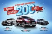 """CR-V, Civic và Accord giảm giá """"quá sốc"""""""