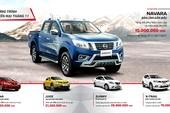 Nissan khuyến mại tháng 11-2017