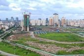 Sở TN&MT Hà Nội kiến nghị thu hồi đất ở 18 dự án