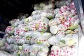 Bắt xe tải chở 3 tấn rau củ lậu từ Trung Quốc