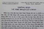 Nhiều phụ nữ Ninh Thuận bị lừa hàng trăm triệu đồng