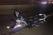Xe máy bị tông văng 100 m, 2 vợ chồng tử nạn trong đêm