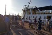 Bảo đảm tuyệt đối tuyến vận tải biển Phan Thiết-Phú Quý