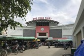 Nợ lương, bảo vệ chợ Phan Thiết đồng loạt bỏ việc