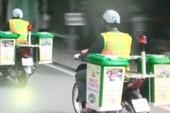 TP.HCM: Thu gom rác bằng xe máy chuyên dụng