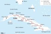 Cuba rước tro cốt lãnh tụ Fidel về Santiago de Cuba