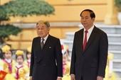 Clip: Lễ đón Nhật hoàng và hoàng hậu tại Phủ Chủ tịch