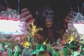 Clip: Sân khấu ra mắt phim Kong trước khi xảy ra cháy