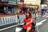 Giải pháp giảm nóng nực khi đi xe máy
