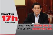 Thứ trưởng Huỳnh Vĩnh Ái xin lỗi ông Huỳnh Tấn Vinh