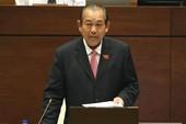 Phó Thủ tướng nói về việc 'bổ nhiệm người nhà'