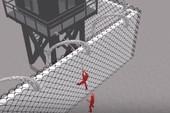 3D mô phỏng hai tử tù khoét tường vượt ngục