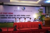 Chi 100 triệu đồng để 'mua' logo gạo Việt Nam
