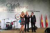 Quốc ca Việt, Mỹ vang lên tại lễ kỷ niệm quốc khánh Mỹ