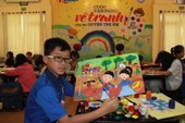 100 trẻ em cùng vẽ tranh để hiểu về quyền của mình