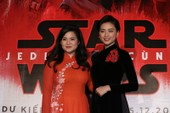 Cô gái nghe điện thoại gốc Việt vào đóng Star Wars