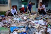 Miễn học phí cho học sinh gia đình bị lũ ở Bình Định