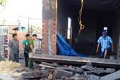 Sập đan bê tông nhà xây không phép, 2 người thương vong
