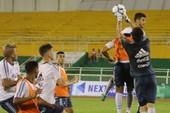 U-20 Argentina tập 'đậm' tình huống cố định