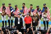 Đánh bại Thái Lan, đội của bộ trưởng Malaysia đoạt HCV