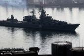 Tàu tên lửa Nga tập huấn trên Thái Bình Dương