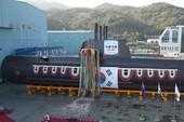 Hàn Quốc ra mắt tàu ngầm tấn công mới nhất