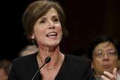 Trump sa thải quyền Bộ trưởng Tư pháp vì chống sắc lệnh