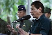 Ông Duterte sẵn sàng trả lương để phiến quân đánh IS