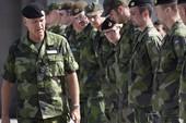 Lo ngại Nga, Thụy Điển tập trận lớn với NATO