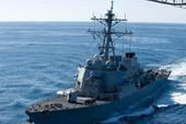 Tàu chiến Mỹ áp sát Đá Vành Khăn