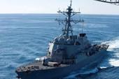 Tàu chiến Mỹ gặp nạn: Tổng thống Trump lên tiếng