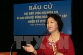 Lời gửi gắm tới cử tri của Chủ tịch QH Nguyễn Thị Kim Ngân