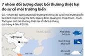 Infographic: 7 nhóm được bồi thường do sự cố cá chết