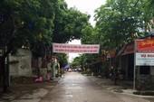 Xe của đoàn đối thoại đã vào thôn Hoành, Đồng Tâm