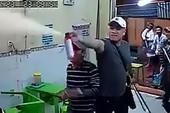Nghi can đập phá tiệm kem ở quận 1 bị bắt