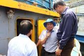 Tàu vỏ thép Bình Định: Máy Mitsubishi không chính hãng