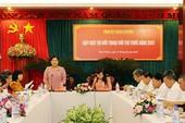 Tỉnh ủy Bình Phước đối thoại với trí thức