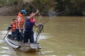 Lật xuồng, 5 người mất tích trên sông Krông Nô