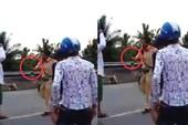 Bị vây khi xử lý vi phạm, CSGT rút súng tự vệ