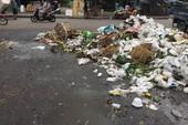 Chợ và nỗi lo về rác thải